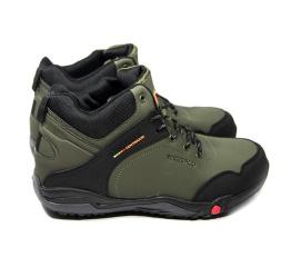 Купить Чоловічі черевики зимові Merrell хаки в Украине