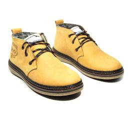 Мужские ботинки на меху Montana светло-коричневые