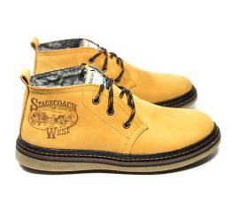 Купить Чоловічі черевики зимові Montana светло-коричневі в Украине