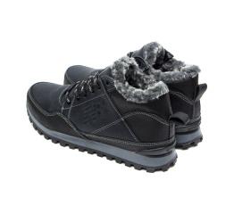 Мужские ботинки на меху New Balance темно-синие