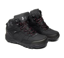 Мужские ботинки на меху Under Armour черные