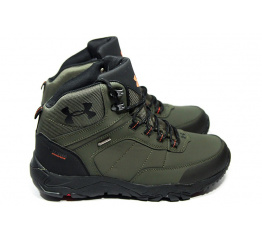 Мужские ботинки на меху Under Armour хаки