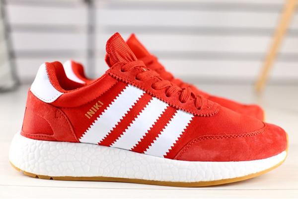 Мужские кроссовки Adidas Iniki Runner красные