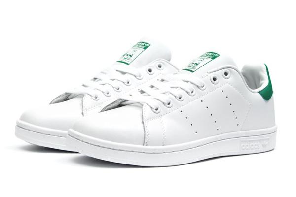 Мужские кроссовки Adidas Stan Smith white-green