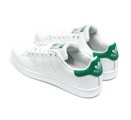 Купить Мужские кроссовки Adidas Stan Smith white-green в Украине