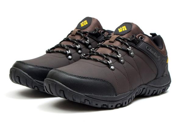 Мужские кроссовки для активного отдыха Columbia коричневые