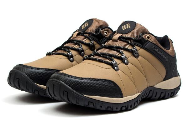 Мужские кроссовки для активного отдыха Columbia светло-коричневые