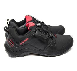 Купить Мужские кроссовки на меху Adidas Terrex Swift R Pro черные с красным