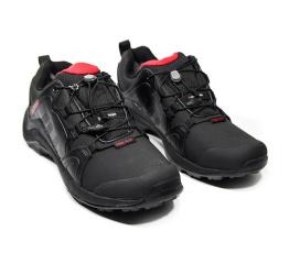 Купить Мужские кроссовки на меху Adidas Terrex Swift R Pro черные с красным в Украине