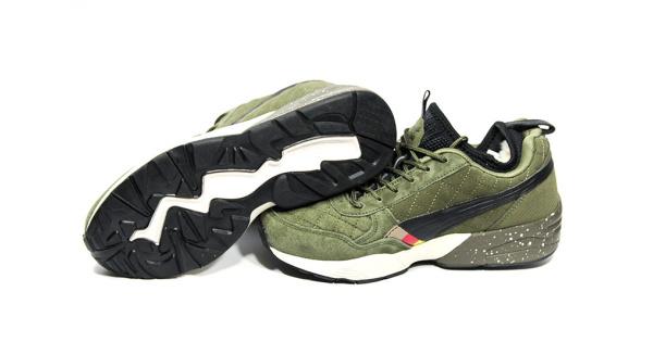 7206f819 Puma (Пума) кроссовки R698 x Ronnie Fieg x Highsnobiety хаки купить | ASPOLO