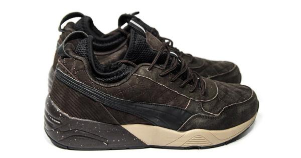 b5bf8d33 Puma (Пума) кроссовки R698 x Ronnie Fieg x Highsnobiety коричневые купить |  ASPOLO