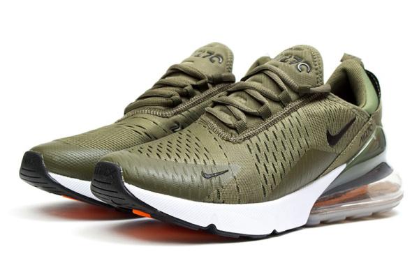 Мужские кроссовки Nike Air Max 270 хаки