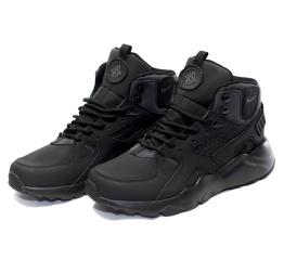 Купить Чоловічі високі кросівки Nike Air Huarache High Top чорні