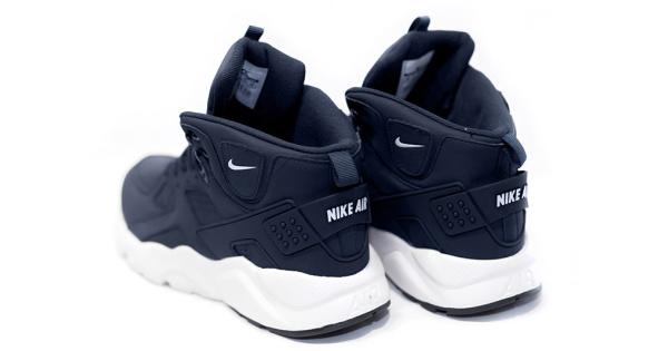 Air Темно Синие High NikeнайкКроссовки Huarache Купить Top WD29YHEI