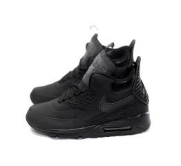 Купить Мужские высокие кроссовки Nike Air Max 90 High-Top черные