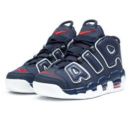 Мужские высокие кроссовки Nike Air More Uptempo '96 синие