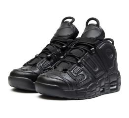 Мужские высокие кроссовки Nike Air More Uptempo '96 x Supreme черные