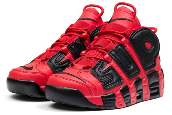 bf74ae50 Nike (Найк) кроссовки Air More Uptempo '96 x Supreme красные купить ...