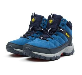 Женские ботинки на меху Vegas голубые