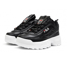Женские кроссовки Fila Disruptor II черные