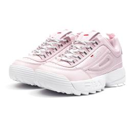 Купить Жіночі кросівки Fila Disruptor II рожеві