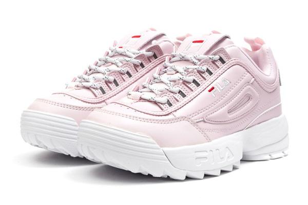 Женские кроссовки Fila Disruptor II розовые