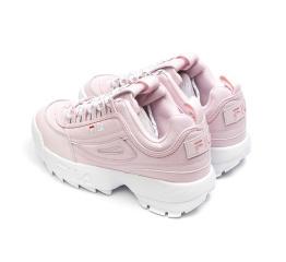Купить Жіночі кросівки Fila Disruptor II рожеві в Украине
