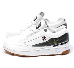 Купить Женские кроссовки Fila Fusion x AAPE белые