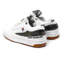 Купить Жіночі кросівки Fila Fusion x AAPE білі в Украине