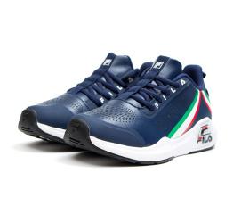 Купить Жіночі кросівки Fila темно-сині