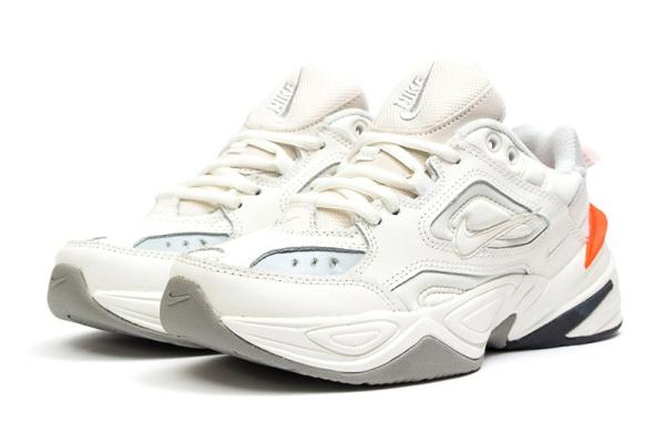 Женские кроссовки Nike M2K Tekno бежевые