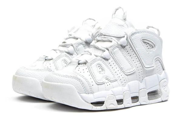 8779b952 Nike (Найк) кроссовки Air More Uptempo '96 Premium белые купить | ASPOLO