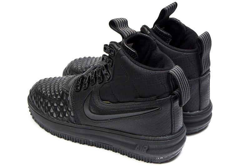 10b5c468 Женские высокие кроссовки Nike Lunar Force 1 Duckboot '17 Thermo черные
