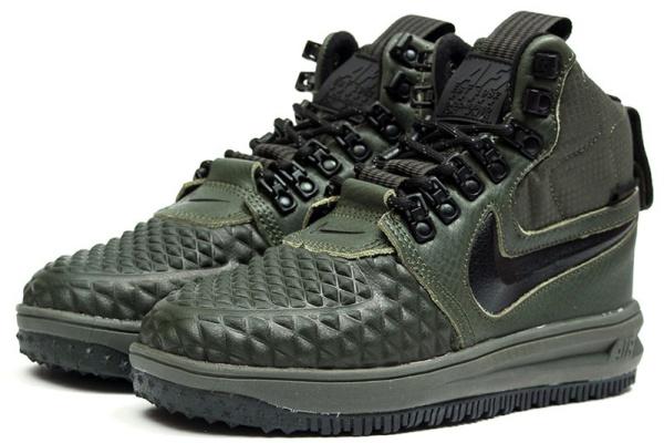 353b2e1e Nike (Найк) кроссовки Lunar Force 1 Duckboot '17 Thermo хаки купить ...