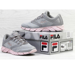 Купить Жіночі кросівки Fila Megalite 2.0 сірі з рожевим