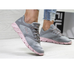Купить Жіночі кросівки Fila Megalite 2.0 сірі з рожевим в Украине
