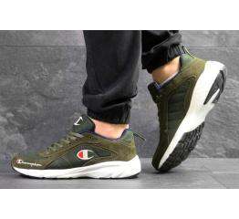 Купить Мужские кроссовки Champion зеленые