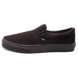 Купить Мужские кеды Vans Classic Slip On черные