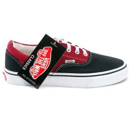Купить Мужские кеды Vans Era красные с черным