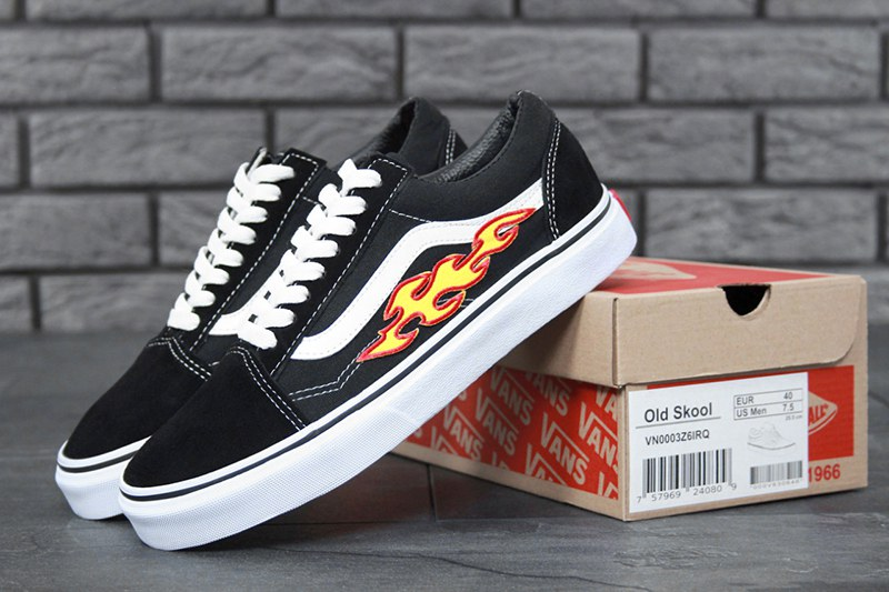 a92dfd433 Vans (Ванс) кеды Old Skool x THRASHER черные купить | ASPOLO
