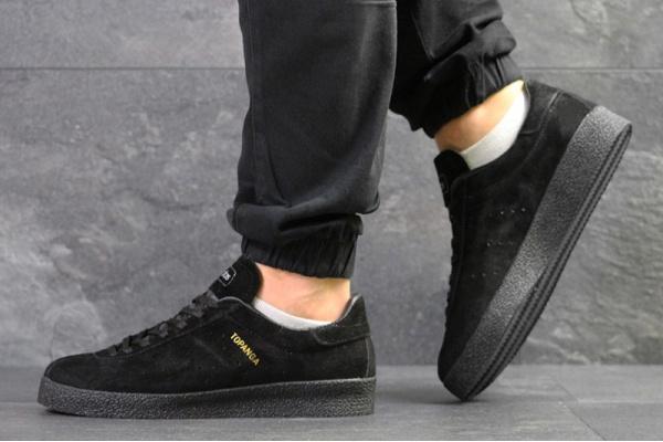 Мужские кроссовки Adidas Topanga черные