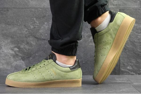 Мужские кроссовки Adidas Topanga зеленые