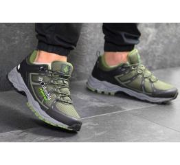 Мужские кроссовки Columbia Montrail зеленые