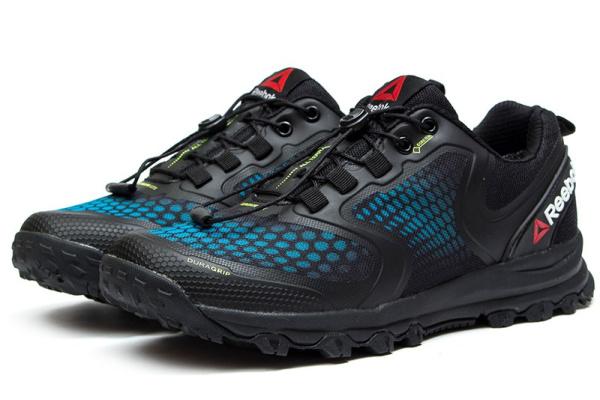 Мужские кроссовки Reebok All Terrain Extreme GTX черные с синим