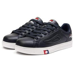 Купить Мужские кроссовки Fila Vintage Sneaker темно-синие
