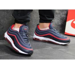 Купить Мужские кроссовки Nike Air Max 97 синие с красным в Украине
