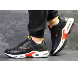 Купить Чоловічі кросівки Nike TN Air Max Plus чорні з червоним и белым