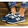 Женские кроссовки New Balance 574 синие