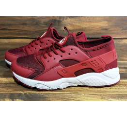 Купить Мужские кроссовки Nike Air Huarache бордовые