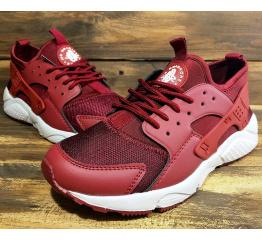 Купить Мужские кроссовки Nike Air Huarache бордовые в Украине